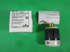 Leviton Locking Plug -- 2511 -- New