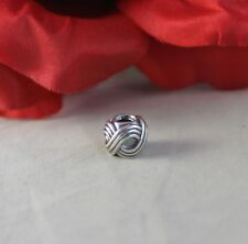 Sterling Silver Retired Ale Pandora 4.34g Charm Cat Rescue