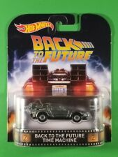 Hot Wheels Entertainment - Back to the Future Time Machine (Silver)