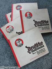 Deutsche Uniformen Bd. I,II,IV, Freiheitskriege, Friedrich d. Große / Sturm Zig.