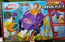 K'Nex 63166 Rippin' Rocket Roller Coaster Nib Complete over 5ft tall New in Box