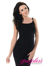 Purpless Maternity Basic Pregnancy & Nursing Cami Vest Top With Adjustable Model