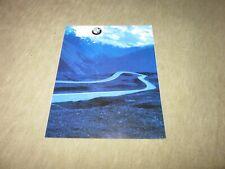 BMW 3er 5er 7er Z4 Z8 X5 M3 Programm Prospekt Brochure von 1/2003, 78 Seiten