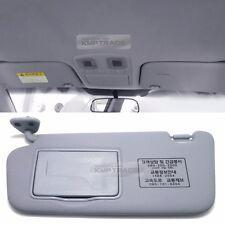 OEM Interior Hand Sun Visor Shade LH Gray for KIA 2006 - 2010 2011 Rio / Pride