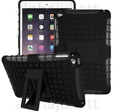 Hybrid Heavy Duty Shockproof Stand Hard Case Cover Back for iPad 2/3/4 Mini Air