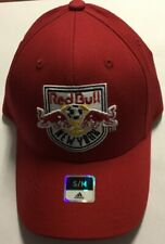 New York Red Bulls Adidas Team Second Color Basic Structured Flex Hat Cap S/M