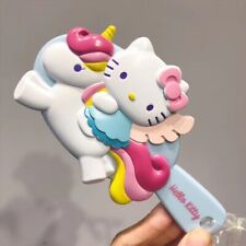 Unicorn Hello Kitty Hair Brush Comb Portable Hairbrush Cartoon comb for Girl