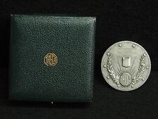 MEDAILLE 1 ARGENT 5cm - 1972 - 25ème ANNIVERSAIRE DE TRECA AUX ARTS MENAGERS