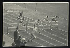 Vintage Photos Track and Field Europe Pole Vaulting & Hurdle Racing
