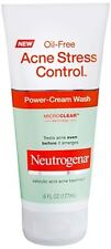Neutrogena Acne Stress Control Oil-Free Power-Cream Wash 6 oz