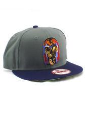 New Era Magneto 9fifty Snapback Hat Adjustable Marvel Comics Zombies X-Men Grey