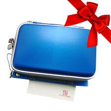Nintendo 3ds Tasche Hardcover Case Schutzhülle Bag - Royalblau