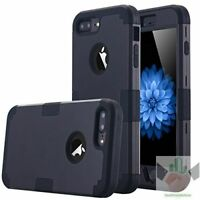 For iPhone7 Plus 8 Plus Case Hybrid Heavy Duty Shockproof Full-Body Protective