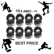 16 Abec 11 608 Wheel bearing Skateboard scooter Quad inline Roller skate 5 7 9
