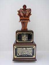 FANTASY FOOTBALL TROPHY LARGE QB CHAIR 14 YEAR FANTASY FOOTBALL TROPHIES