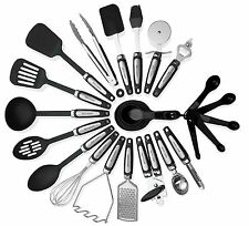 Kitchen Utensils Sets 26 Pieces  Stainless Steel And Nylon Cooking Tools Spoon
