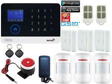 A01 APP IP WiFi Cloud RFID GSM GPRS Wireless Home Security Alarm Burglar System