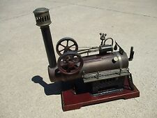 WOW Antique DC Stationary Model Live Steam Engine Toy  with Decal