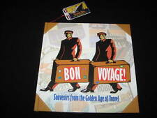BON VOYAGE SOUVENIRS FROM THE GOLDEN AGE OF TRAVEL BY HAROLD DARLING (1990) MINT
