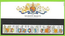 1999 GREAT BRITAIN PRESENTATION PACK No 285 ' THE QUEENS BEASTS
