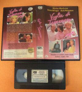 VHS film VOGLIA DI TENEREZZA XXX 1987 Jack Nicholson Debra Winger (F163) no dvd