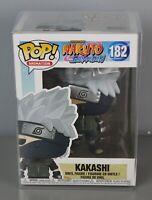 Funko Pop! Vinyl Figure Kakashi #182 Naruto Shippuden Protective Box [GS E]