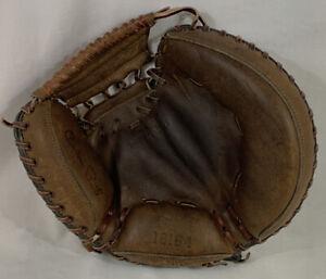 Sears Roebuck Ted Williams Brand Catchers Mitt 16164 Glove RHT Vintage EUC