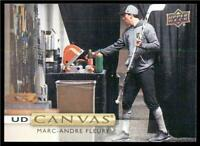 2019-20 Upper Deck UD Canvas #C87 Marc-Andre Fleury - Vegas Golden Knights