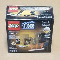 NEW LEGO Studios 1356 VTG 2001 Stunt Man Catapult SEALED