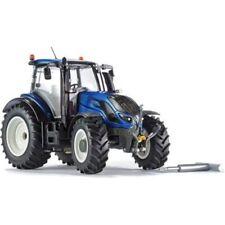 Tracteurs miniatures bleus WIKING