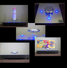 presentoir levitation publicitaire plv pour bijoux vitrine chaussures support br