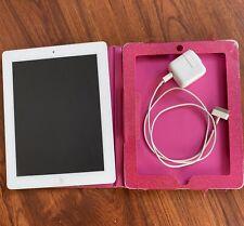 Apple iPad 4th Gen. 16GB, Wi-Fi + Cellular (Unlocked), A1459, 9.7in - White