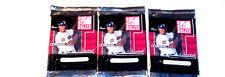 3 new 2001 DONRUSS ELITE baseball HOBBY PACK packs MLB - factory sealed new
