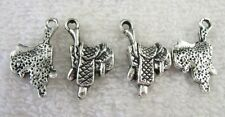 35pcs Tibetan Silver saddle charms FC8749