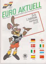 Programme / Programma Germany v Holland 21-06-1988 UEFA Euro 1988 Semi Final !
