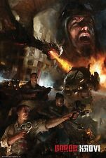NAZI ZOMBIES CALL OF DUTY BLACK OPS LAMINATED MINI A4 POSTER GOROD KROVI