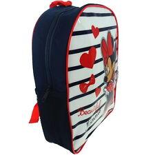 NEW OFFICIAL Disney Minnie Mouse Girls Kids Backpack Rucksack Nursery School Bag