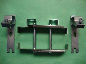 (4280) Jaguar LHD Series 1 ,2  Brake Reservior to Heatshield Mounting Brackets
