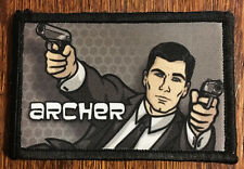 Archer Morale Patch Tactical Military Army Badge Hook Flag USA Flag Funny