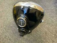 "Lucas 7"" headlight headlamp ssu700 bsa triumph norton ajs matchless bobber"