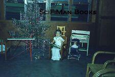 KODACHROME Red Border 35mm Slide Philippines Clark Air Force Base Christmas 1952