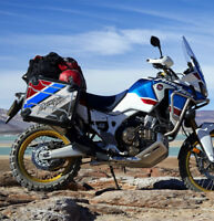 KIT 2 PROTEZIONI ADESIVE VALIGIE HONDA AFRICA TWIN ADVENTURE SPORTS VHA-003 Gray