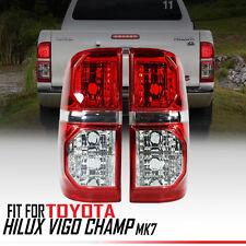 PAIR TAIL BACK REAR LIGHT LAMP TOYOTA HILUX VIGO SR5 MK6 05-11 CHAMP MK7 11 14