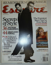 Esquire Magazine Edward Norton & Ralph Fiennes September 2002 031015R