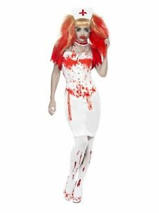 BNIB Smiffys Halloween Blood Drip Nurse costume size large 16-18
