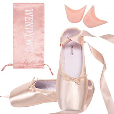 WENDY WU Girls Womens Dance Shoes BALLET Pointe Shoes size  7