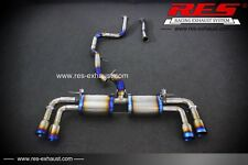 RES  TITIAUM CATBACK EXHAUST SYSTEM FOR VOLVO V40 2.0T