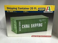 +++ Italeri 1:24 Shipping Container 20FT 3888