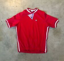 New Pearl Izumi T2 Multicore Cycling 3/4 Zip Jersey Red/White XL
