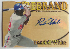 Rondell White 2014 Topps Archives Stadium Club Firebrand Certified Auto #22/25
